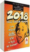2018 Bilgi Kültür Takvimi