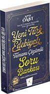 2018 KPSS ÖABT Yeni Türk Edebiyatı Tamamı Çözümlü Soru Bankası