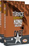 2018 ÖABT Türkçe Öğretmenliği Konu Anlatımı (2 Kitap)