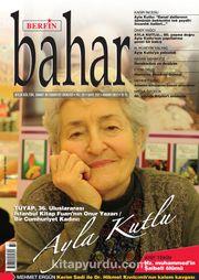 Berfin Bahar Aylık Kültür Sanat ve Edebiyat Dergisi Kasım 2017 Sayı: 237