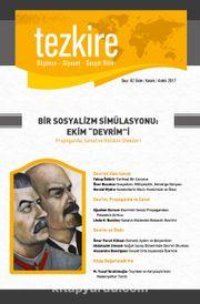 Tezkire Düşünce-Siyaset-Sosyal Bilim Dergisi Sayı:62 Ekim-Kasım-Aralık 2017