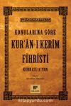 Konularına Göre Kur'an-ı Kerim Fihristi