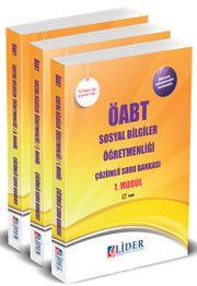 ÖABT Sosyal Bilgiler Öğretmenliği Modüler Çözümlü Soru Bankası (3 Kitap)