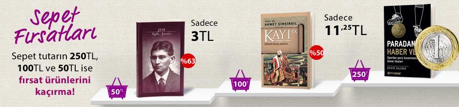 """50TL ve Üzeri Alışverişinize """"2018 Franz Kafka Ajandası (Küçük Boy)"""" Sadece 3 TL"""