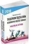 2018 Taşeron İşçilerin Kadroya Geçiş Sınavı Hazırlık Kitabı