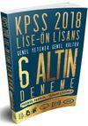 2018 KPSS Lise Ön Lisans Genel Yetenek Genel kültür Tamamı Çözümlü 6 Altın Deneme