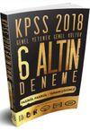 2018 KPSS Genel Yetenek Genel Kültür Tamamı Çözümlü 6 Altın Deneme