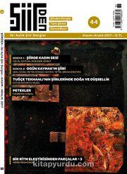 Şiirden İki Aylık Şiir Dergisi Sayı:44 Kasım-Aralık 2017