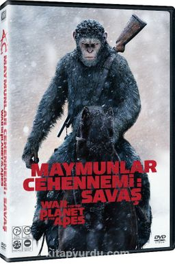 War For The Planet Of The Apes - Maymunlar Cehennemi Savaş (Dvd)