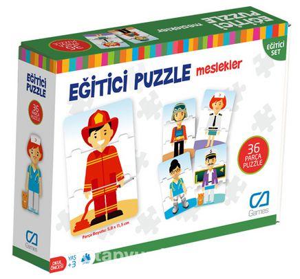 Eğitici Puzzle - Meslekler (CA.5030)