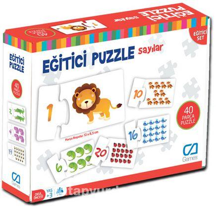 Eğitici Puzzle - Sayılar (CA.5031)