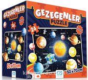 Gezegenler Eğitici Puzzle (CA.5026)