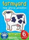 Farmyard Puzzle (2 Parça Yapboz) (18 Ay+) (Kod: 202)