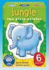 Jungle Puzzle (2 Parça Yapboz) (18 Ay+) (Kod:205)