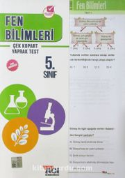 5. Sınıf Fen Bilimleri Çek Kopart Yaprak Test