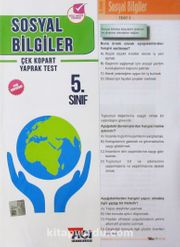 5. Sınıf Sosyal Bilgiler Çek Kopart Yaprak Test