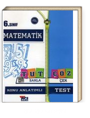6. Sınıf Matematik Tut Sakla Çöz Çek Konu Anlatımlı Test
