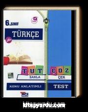 6. Sınıf Türkçe Tut Sakla Çöz Çek Konu Anlatımlı Test