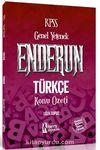 2018 KPSS Genel Yetenek Enderun Türkçe Konu Özeti