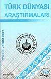 Türk Dünyası Araştırmaları Vakfı Tarih Dergisi Eylül-Ekim 2007 / Sayı 170