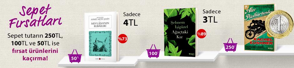 """50TL ve Üzeri Alışverişinize """"Mevlana'nın Rubaileri"""" Sadece 4 TL"""