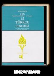 YKS-TYT 1. Oturum 15 Türkçe Denemesi