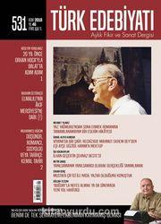 Türk Edebiyatı Aylık Fikir ve Sanat Dergisi Ocak 2018 Sayı 531