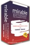 Mirable Dictionary (İngilizce-İngilizce-Türkçe / Türkçe-İngilizce)