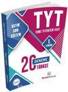 YKS-TYT Türkçe 20 Deneme 1. Oturum