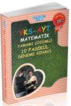 YKS-AYT Matematik Tamamı Çözümlü 10 Fasikül Deneme Sınavı