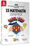 8. Sınıf Fen Liseleri ve Nitelikli Okullar Sınavı İçin Matematik 15 Deneme