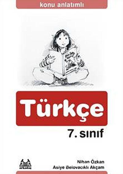 7. Sınıf Türkçe Konu Anlatımlı Yardımcı Ders Kitabı - Nihan Özkan pdf epub