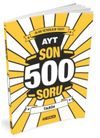 AYT Son 500 Soru Tarih