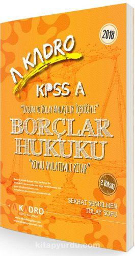 2018 Kpss A Borçlar Hukuku Konu Anlatımlı Kitap Indir Pdf Mobi