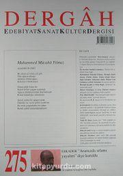 Dergah Edebiyat Sanat Kültür Dergisi Sayı:275 Ocak 2013