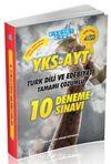 YKS-AYT Türk Dili ve Edebiyatı Tamamı Çözümlü 10 Deneme Sınavı