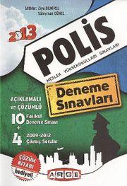 2013 Polis Meslek Yüksekokulları Sınavları & Deneme Sınavları