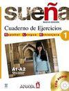Suena 1 A1-A2 Cuaderno de Ejercicios +CD (İspanyolca Temel ve Orta-Alt Seviye Çalışma Kitabı +CD)