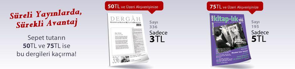"""50TL ve Üzeri Alışverişinize """" Dergah Edebiyat Sanat Kültür Dergisi Sayı 336 Şubat 2018 """" Sadece 3 TL"""