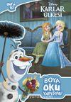 Disney Karlar Ülkesi Olaf'ın İşi Boya Oku Yapıştır