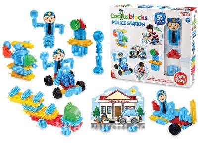 Kaktüs Blok Polis 55 Parça (03307)