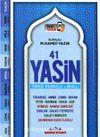 41 Yasin Türkçe Okunuşlu ve Mealli, Sesli Fihristli (Hafız Boy, Mavi Kapak)