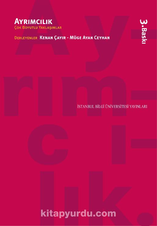 AyrımcılıkÇok Boyutlu Yaklaşımlar -  pdf epub