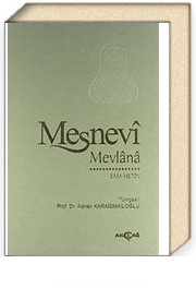 Mesnevi-Tam Metin / Tek Cilt (Ciltli-İthal Kağıt)