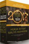 2018 KPSS A Grubu ve Tüm Kurum Sınavları Tüm Dersler Konu Anlatımlı Tek Kitap Hukuk İktisat Maliye Muhasebe