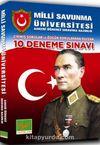 Milli Savunma Üniversitesi Askeri Öğrenci Sınavına Hazırlık 10 Deneme Sınavı