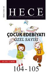 Sayı:104-105-Ağustos-Eylül 2005-Hece Aylık Edebiyat Dergisi
