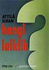 Hangi Laiklik - Attila İlhan pdf epub