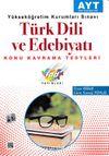 AYT Türk Dili ve Edebiyatı Konu Kavrama Testleri