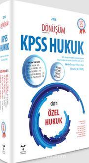 KPSS Hukuk - Dönüşüm Cilt 1 Modüler Set (4 Kitap)